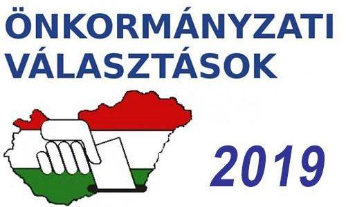 Önkormányzati választás 2019: nyilvántartásba vett jelöltek